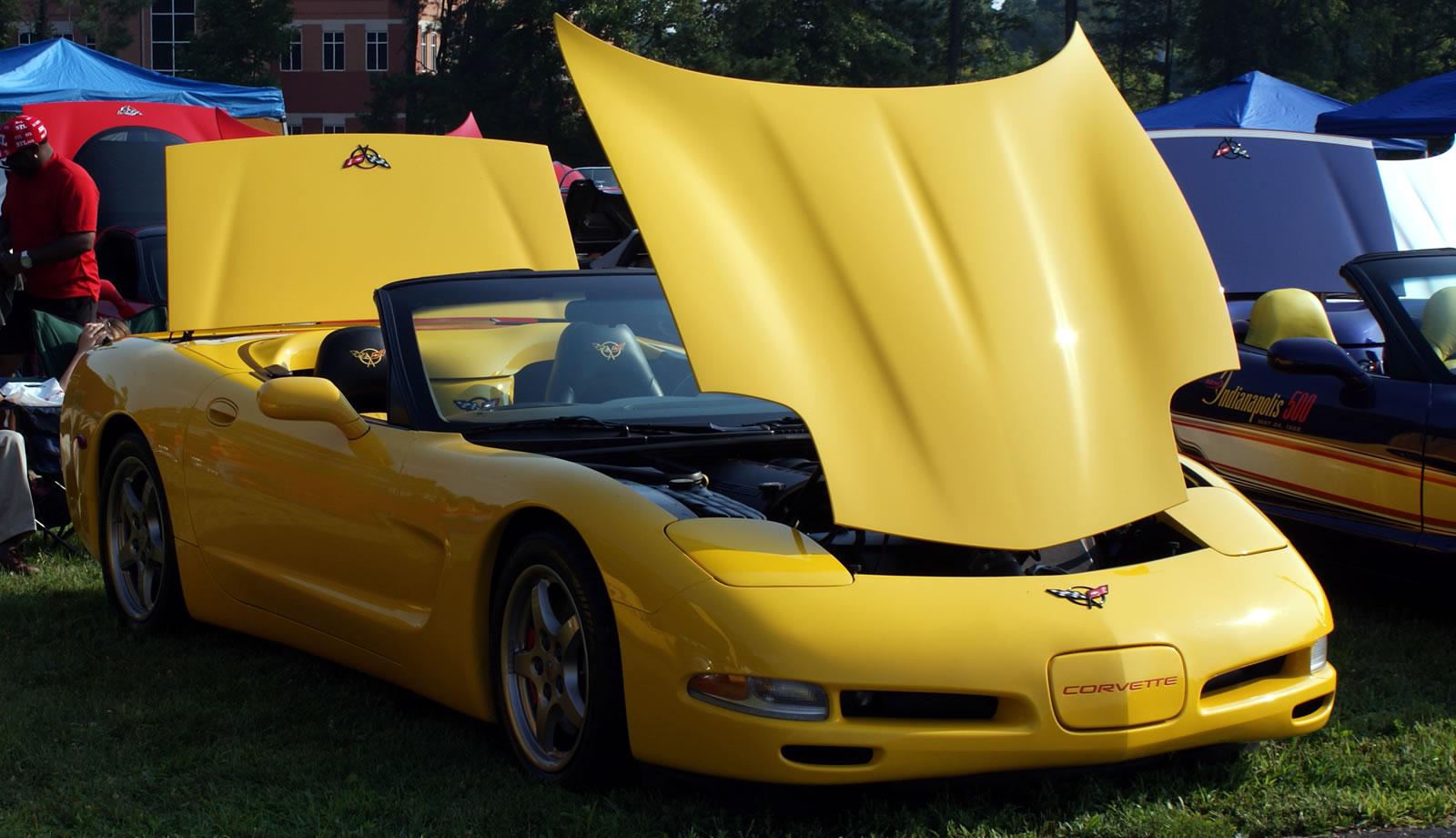 c5 f s 2000 millenium yellow convertible 6 speed corvette international. Black Bedroom Furniture Sets. Home Design Ideas