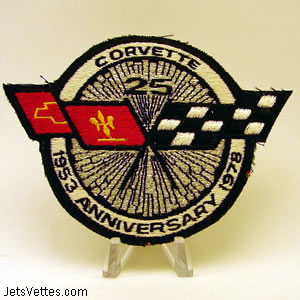 25th Anniversary Corvette Show Charity Raffle - Patch